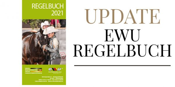 Redaktionelle Änderungen EWU Regelbuch