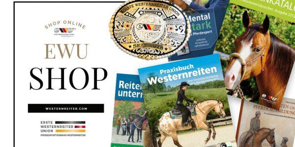 Jetzt neu im EWU Shop!  Lehr-, Lern- und Fachbücher, Pferdebücher, Merchandise
